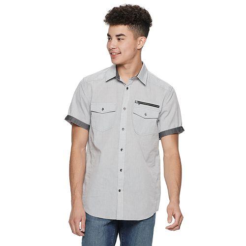 Men's Urban Pipeline™ Woven Button-Down Shirt