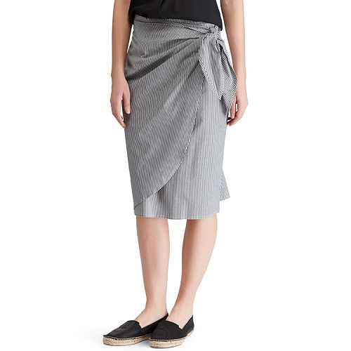 Women's Chaps Striped Skirt