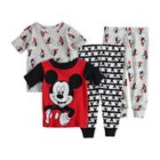 Disney's Mickey Mouse Baby Boy Tops & Bottoms Pajama Set