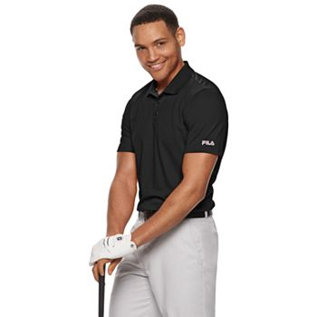 Fila Sport Golf Men's Regular-Fit Pro Core Pique Performance Polo