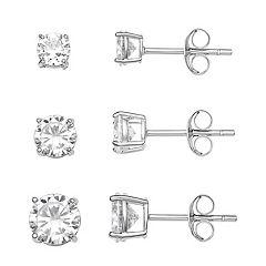 Fake Diamond Earrings Kohl S