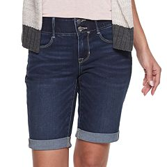 8fd50231 Women's Apt. 9® Tummy Control Denim Bermuda Shorts