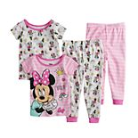 Disney's Minnie Mouse Baby Girl Tops & Bottoms Pajama Set