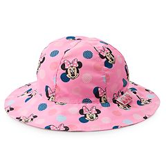 b2ed714673d Disney s Minnie Mouse Toddler Girl Reversible Bucket Hat