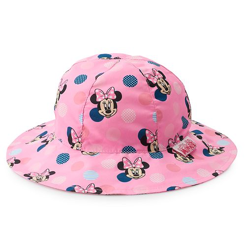 6f79dba7 Disney's Minnie Mouse Toddler Girl Reversible Bucket Hat