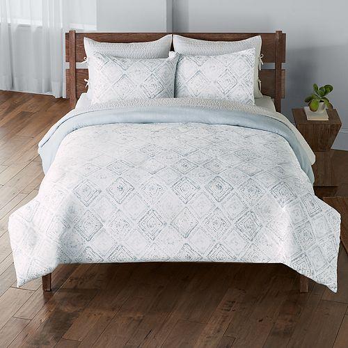 SONOMA Goods for Life™ Coastal Tile Duvet Cover Set
