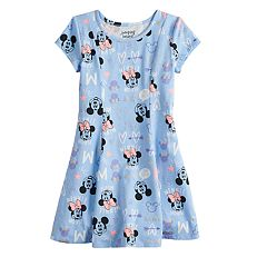Disney's Minnie Mouse Girls 4-12 Glittery Princess Seam Dress by Jumping Beans®