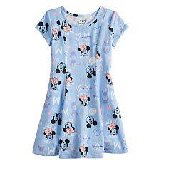 f8382274206a3 Disney's Minnie Mouse Girls 4-12 Glittery Princess Seam Dress by Jumping  Beans®