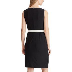 Women's Chaps Faux Wrap Dress
