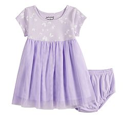 Baby Girl Jumping Beans® Butterfly Tulle Dress