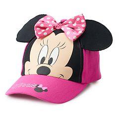 reputable site 0dcc4 77b73 Disney s Minnie Mouse Toddler Girl 3D Ears Baseball Cap