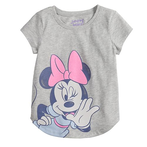 3defe8b86d8 Disney s Minnie Mouse Toddler Girl Glittery Graphic Tee by Jumping Beans®