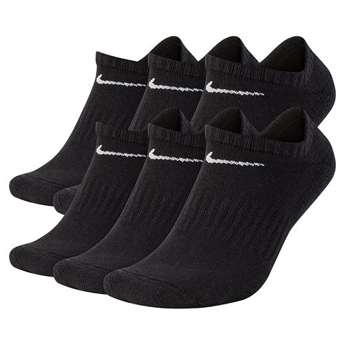 Men's Nike 6-pack Everyday Plus Cushion No-Show Training Socks