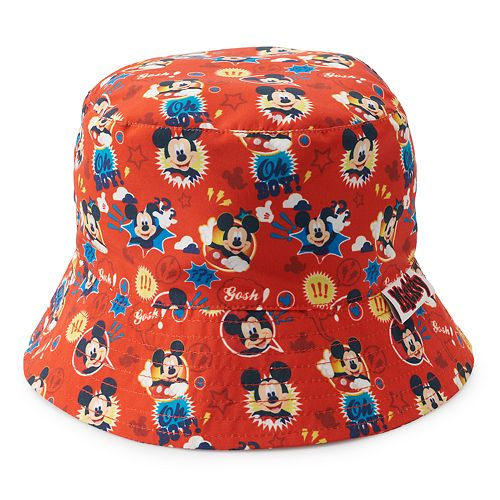 b34215e6e Disney's Mickey Mouse Toddler Boy Reversible Bucket Hat