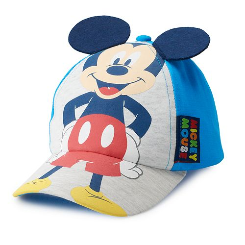bb42e7e1ba615 Disney s Mickey Mouse Toddler Boy 3D Ears Hat