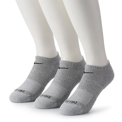 Men's Nike 3-pack Everyday Plus Cushion No-Show Training Socks