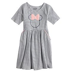 Disney's Minnie Mouse Girls 4-12 Striped Dress by Jumping Beans®