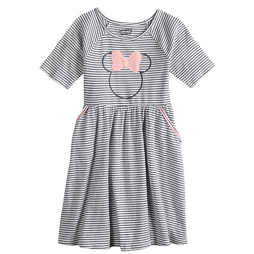 3b6295bc0ed34 Disney s Minnie Mouse Girls 4 12 Striped Dress By Jumping Beans® by  Disney s Minnie Mouse