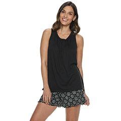 df77e1575 Women s Croft   Barrow® Tank   Printed Shorts Pajama Set