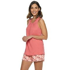 54c9dae2c831 Women s Croft   Barrow® Tank   Printed Shorts Pajama Set