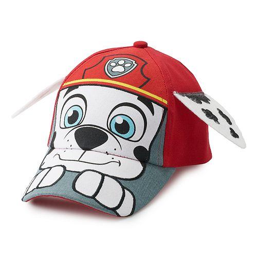 b1368ceca Toddler Boy Paw Patrol Marshall 3D Ear Baseball Cap