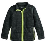 Boys 4-12 Jumping Beans® Space Dyed Microfleece Zip Lightweight Jacket