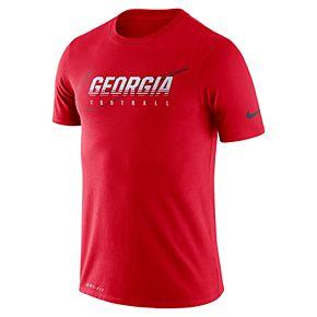 Men's Nike Georgia Bulldogs Facility Tee