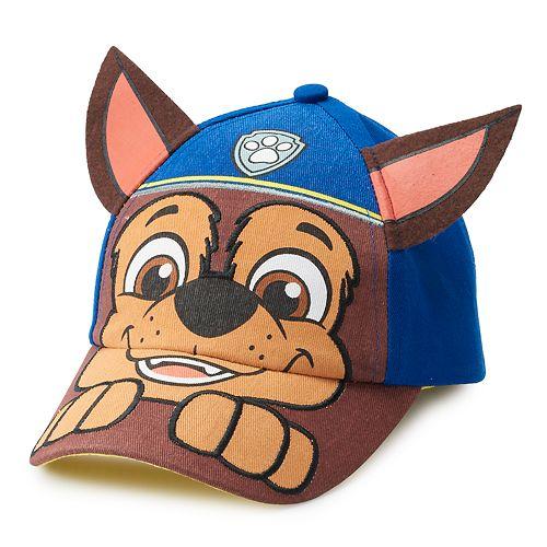 Toddler Boy Paw Patrol Chase 3D Ears Baseball Cap