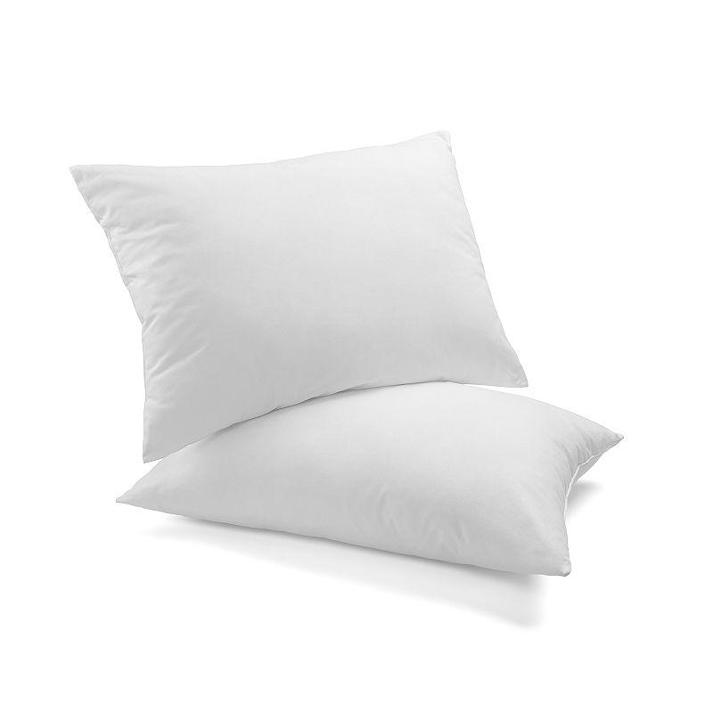 Dream On 2-pack Duck Down Blend Pillow, White, JUMBO