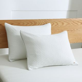Dream On Cool Knit Fabric Feather Pillow