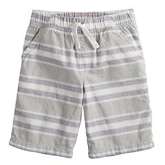 Boys 4-12 Jumping Beans® Striped Woven Shorts