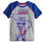 Boys 4-12 Jumping Beans® Marvel Captain America Raglan Tee