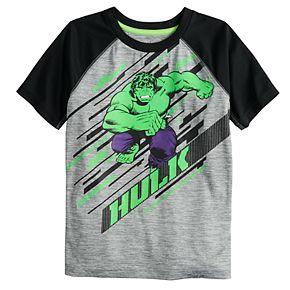 Boys 4-12 Jumping Beans® Marvel The Hulk Raglan Tee