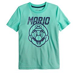 Boys 4-12 Jumping Beans® Super Mario Bros. Mario Face Graphic Tee