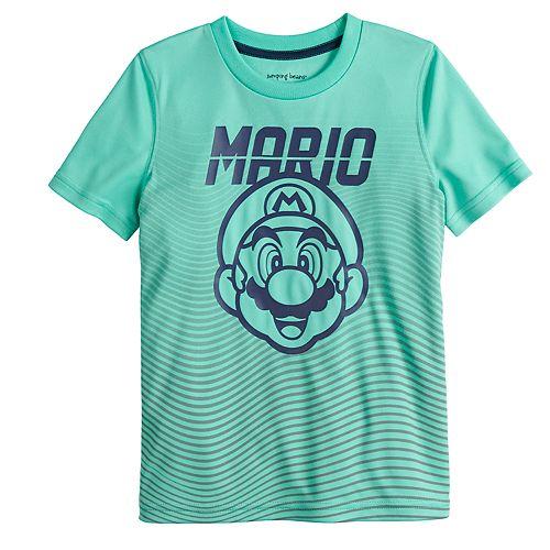 Boys 4-12 Jumping Beans® Super Mario Bros. Mario Face Graphic Tee