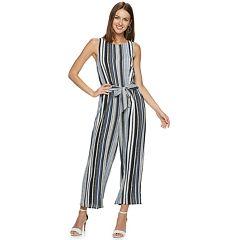 Women's ELLE™ Printed Crepe Jumpsuit
