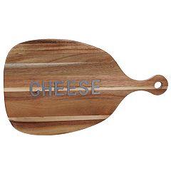 Certified International Acacia Wood Cheese Paddle Board