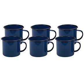 Certified International Enamel 6-pc. Mug Set