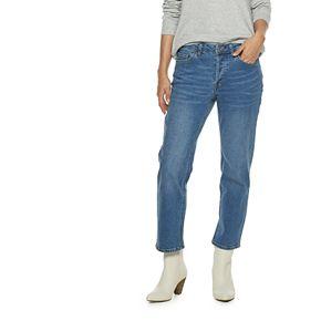 Women's POPSUGAR Straight-Leg Midrise Jeans