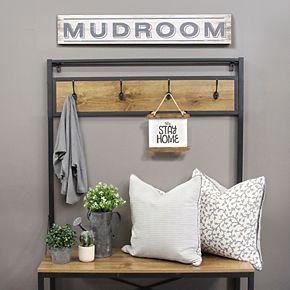 """Stratton Home Decor """"Mudroom"""" Wall Decor"""