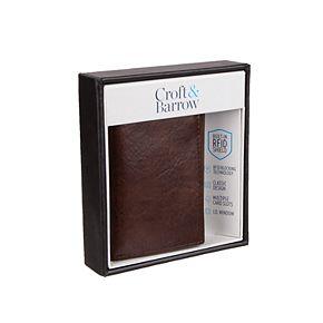 Men's Croft & Barrow® RFID-Blocking Trifold Wallet
