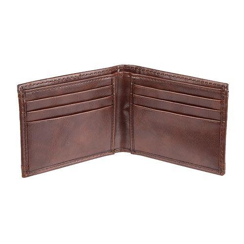 Men's Croft & Barrow® RFID-Blocking Slimfold Wallet