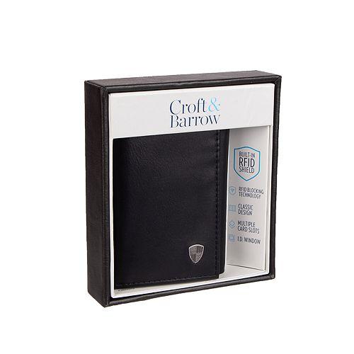 Men's Croft & Barrow® RFID Trifold Wallet