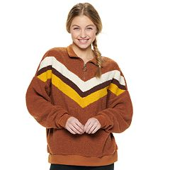 Juniors' Cloud Chaser Chevron Long Sleeve Top