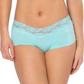 SO® Lace-Trim Boyshort Panty