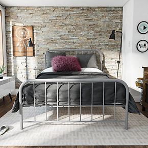 Novogratz Bellamy Metal Bed