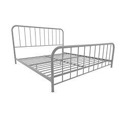 Novogratz Bellamy Metal Bed