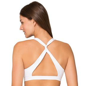 SO® Twisted-Back Sports Bra