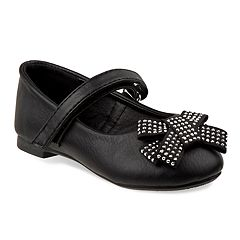 Laura Girls' Studded Bow Flats