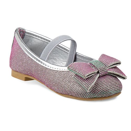 Laura Ashley Girls' Glitter Flats